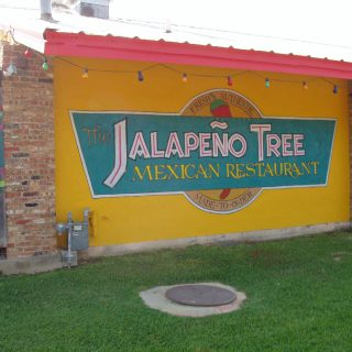 Design details from The Jalapeno Tree mexican restaurant in Jacksonville, Texas