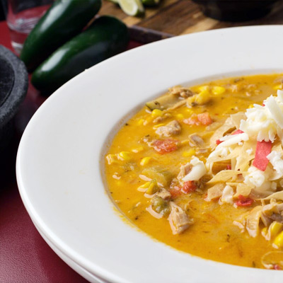 In Jalapeno Tree mexican restaurant you can also order soups