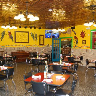 Interior of the Jalapeno Tree Mexican Restaurant in Canton