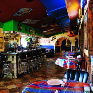 Interior design from Jalapeno Tree Mexican restaurant in Gun Barrel City, Texas