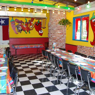 Interior design from Mexican Restaurant Jalapeno Tree in Nacogdoches, Texas