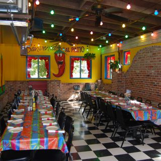 Interior look of Mexican Restaurant Jalapeno Tree in Nacogdoches, Texas