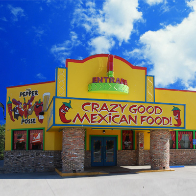 Facade of the Jalapeno Tree Mexican Restaurant in Canton, Texas