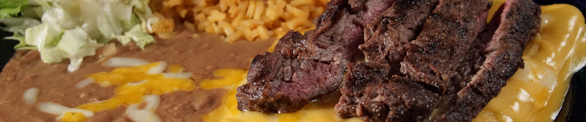 Beef meat with cheese, rice and vegetables to order in Nacogdoches Texas